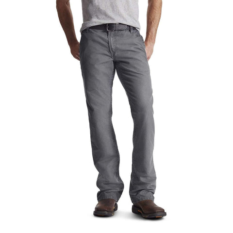 Ariat Flame Resistant M4 Workhorse Pants-Gray