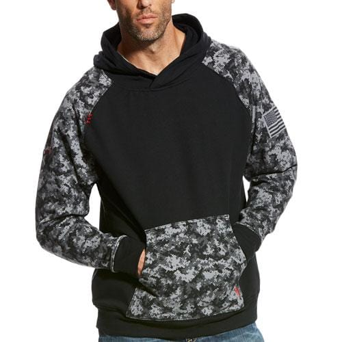 watch 0d7f6 1f99f Ariat Flame Resistant Patriot Hoodie