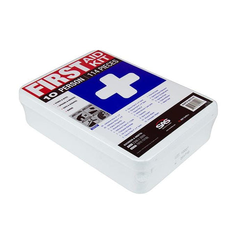 First Aid Kit - 10 Person - Oil and Gas Safety Supply