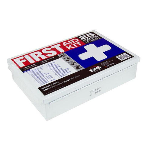 First Aid Kit - 25 Person - Oil and Gas Safety Supply