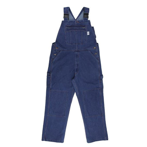 Flame Resistant FR Denim Bib Overall - Oil and Gas Safety Supply - 1