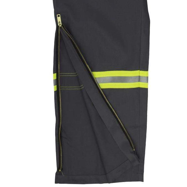 Flame Resistant FR Reflective Coveralls With Leg Zippers - Oil and Gas Safety Supply - 4