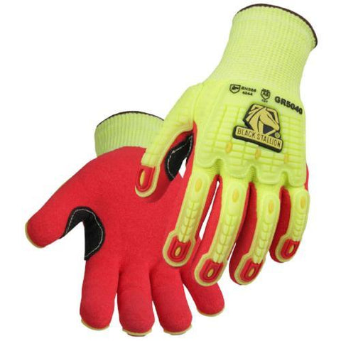 Black Stallion Accuflex Metacarpal Gloves