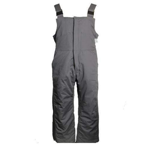 Flame Resistant Gray Insulated Bib Overall