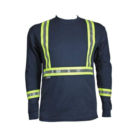 Flame Resistant Reflective Long Sleeve Shirt