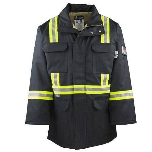FR Reflective Parka Jacket - Oil and Gas Safety Supply - 1