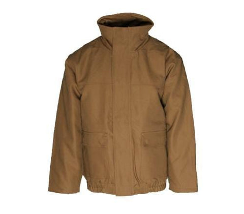 Flame Resistant Brown Bomber Jacket
