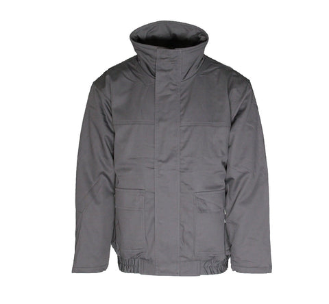 Flame Resistant Gray Bomber Jacket