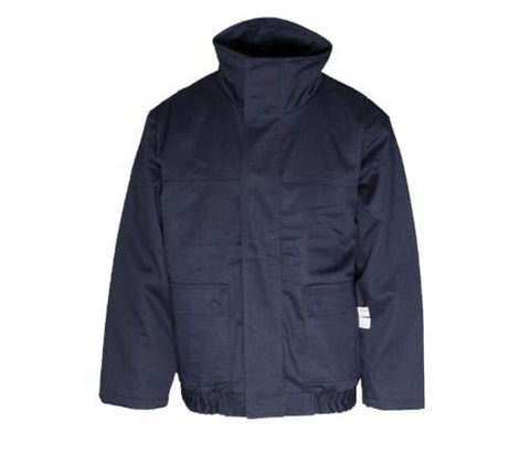 Flame Resistant Navy Bomber Jacket