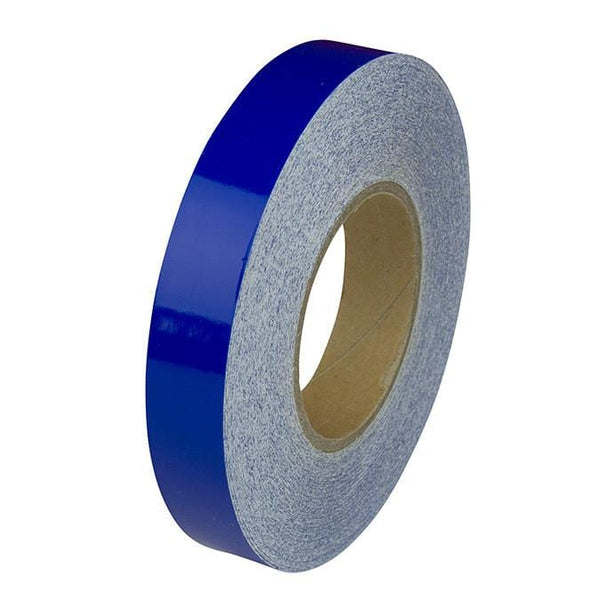 Blue Reflective Hard Hat Tape Roll - Oil and Gas Safety Supply