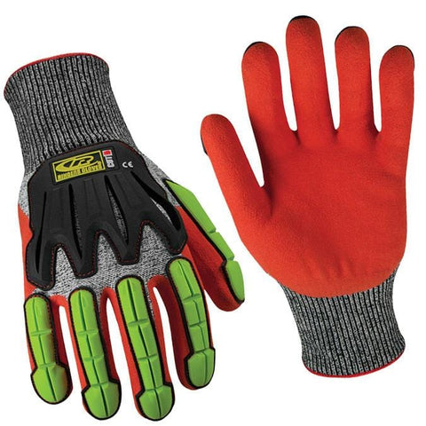 Ringer's Roughneck Knit Cut 5 Sandy Nitrile Dip Glove - Oil and Gas Safety Supply
