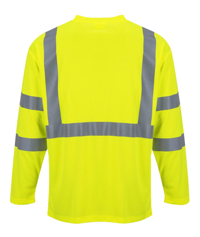 Portwest Hi-Viz Long Sleeve Shirt