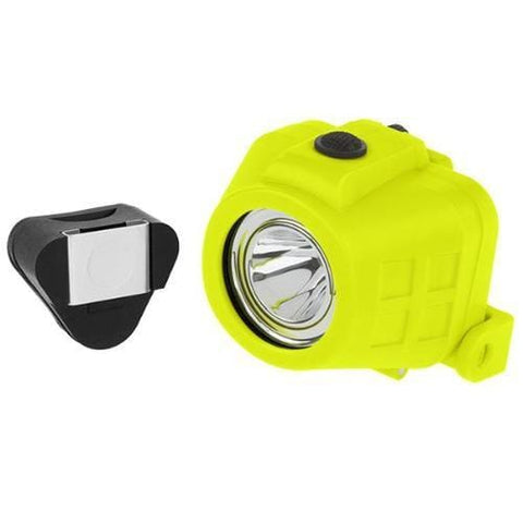 Intrinsically Safe Dual-Light Headlamp