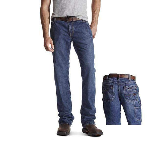 Ariat Flame Resistant M4 Workhorse Pants- Denim