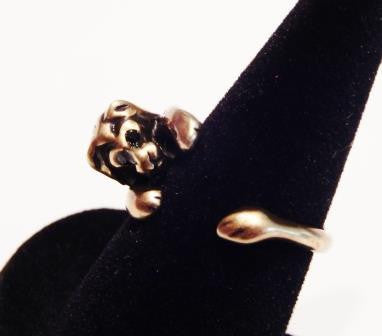 Bronze Plated Lion Ring