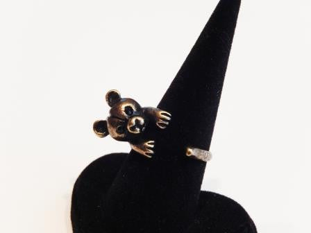 Cute Teddy Bear Ring