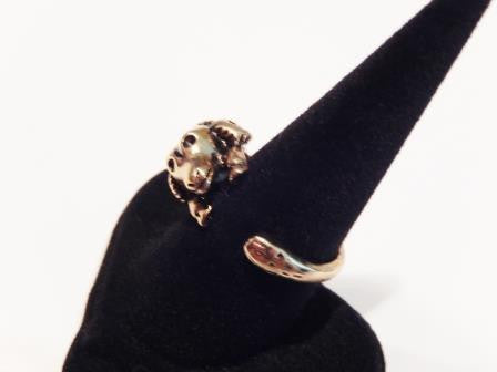 Silver or Gold Ram Sheep Ring