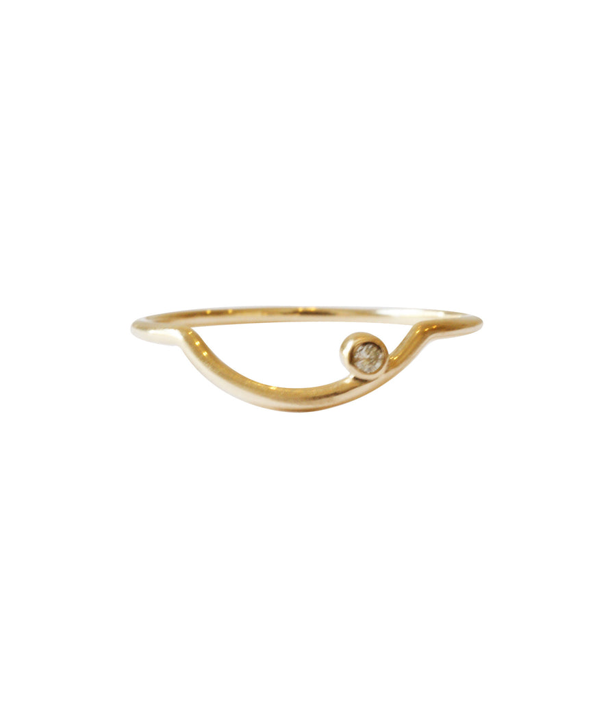 Arc Ring, GOLD / 5, Rings, blairlimnyblairlimny
