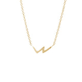 Geometric Necklace, Gold, Necklaces, blairlimnyblairlimny