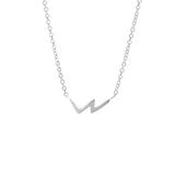 Geometric Necklace, Sterling Silver, Necklaces, blairlimnyblairlimny