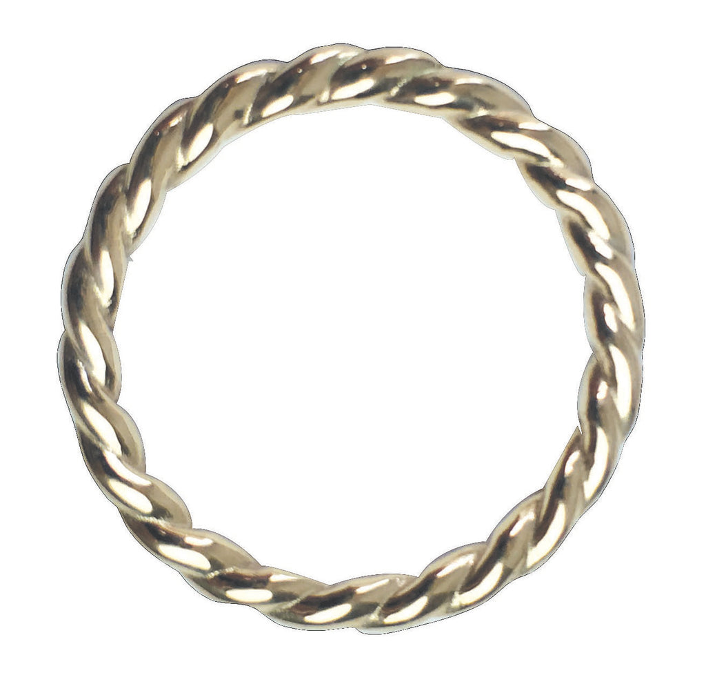 Rope Ring, silver, Blairlimny, ring