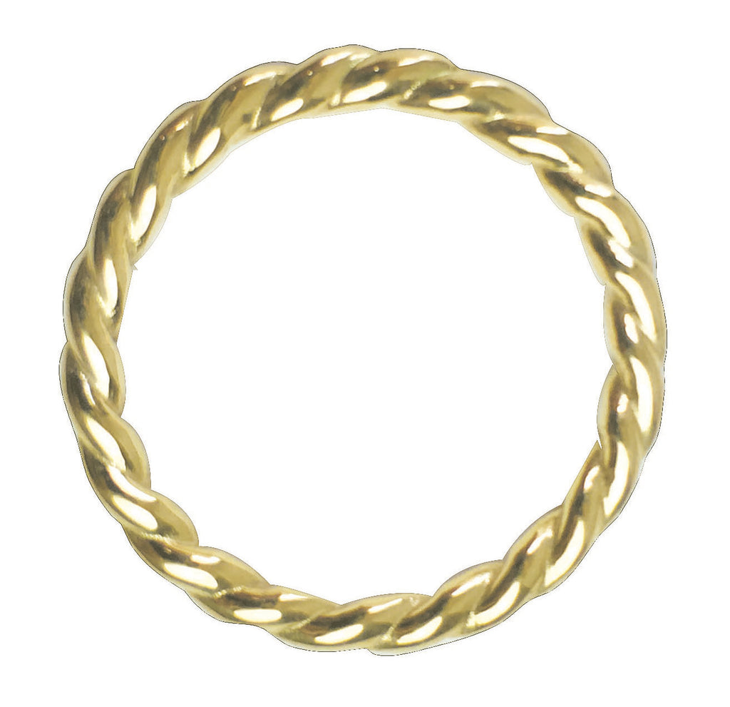 Rope Ring, Gold, Blairlimny, ring