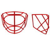 Cat Eye Style Stainless Steel Replacement Goalie Mask Cage