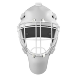 Pro Spec D1 Goalie Mask <br>Cheater Cage<br>WHT/WHT