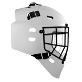 Pro Spec D1 Goalie Mask <br>Cheater Cage<br>WHT/BLK