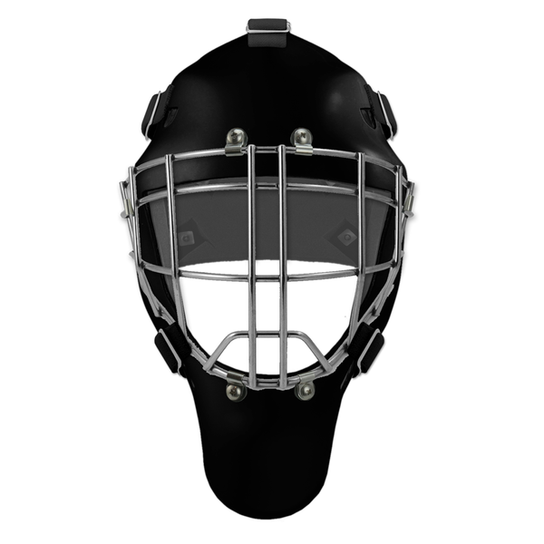 Pro Spec D1 Goalie Mask <br>Cheater Cage<br>BLK/CHR