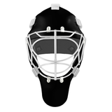 Pro Spec D1 Goalie Mask <br>Cat Eye Cage<br>BLK/WHT