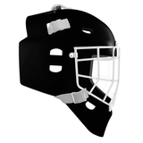 Pro Spec D1 Goalie Mask <br>Cheater Cage<br>BLK/WHT
