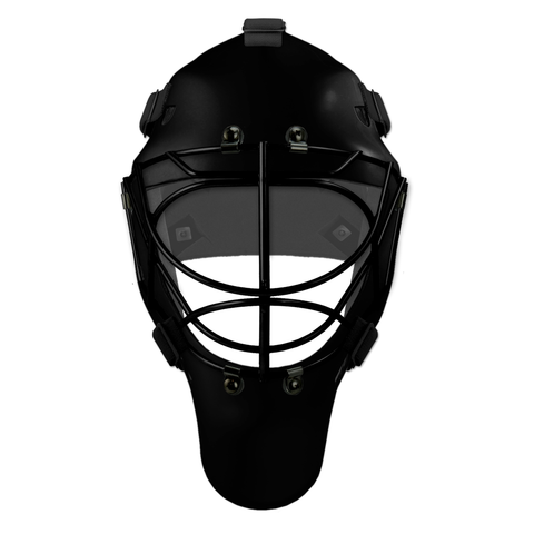 Pro Spec D1 Goalie Mask <br>Cat Eye Cage<br>BLK/BLK
