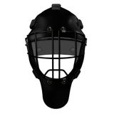 Pro Spec D1 Goalie Mask <br>Cheater Cage<br>BLK/BLK