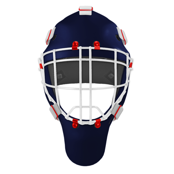Pro Spec D1 Goalie Mask <br>Cheater Cage<br>NYR 1