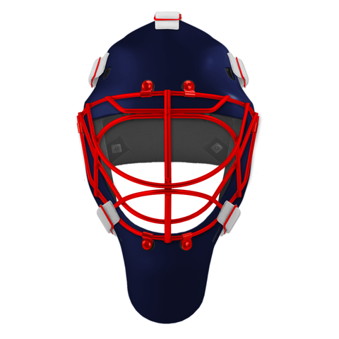Pro Spec D1 Goalie Mask <br>Cat Eye Cage<br>NYR 2