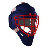 Pro Spec D1 Goalie Mask <br>Cheater Cage<br>NYR 2