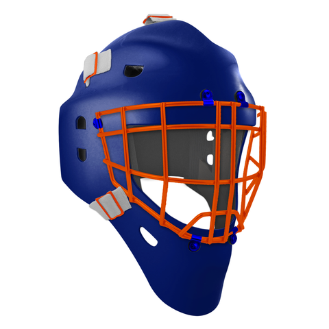 Pro Spec D1 Goalie Mask <br>Cheater Cage<br>EDM 1
