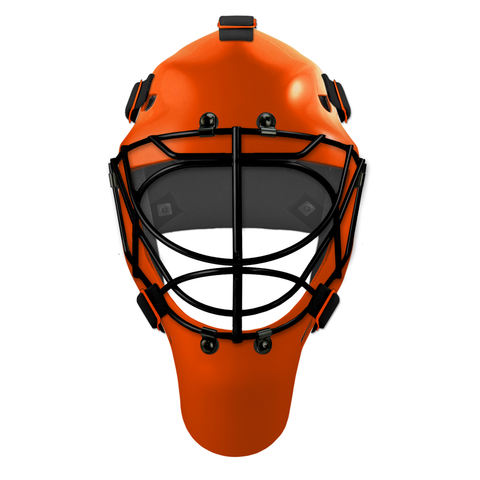 Pro Spec D1 Goalie Mask <br>Cat Eye Cage<br>PHI 1