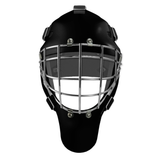 Pro Spec D1 Goalie Mask <br>Approved Grid Cage<br>BLK/CHR