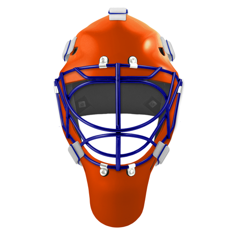 Pro Spec D1 Goalie Mask <br>Cat Eye Cage<br>EDM 2