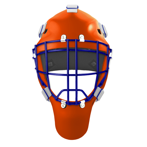 Pro Spec D1 Goalie Mask <br>Cheater Cage<br>EDM 2