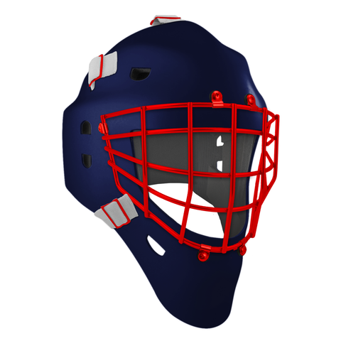 Pro Spec D1 Goalie Mask <br>Approved Grid Cage<br>NYR 2