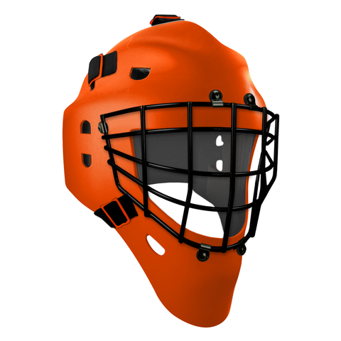 Pro Spec D1 Goalie Mask <br>Approved Grid Cage<br>PHI 1