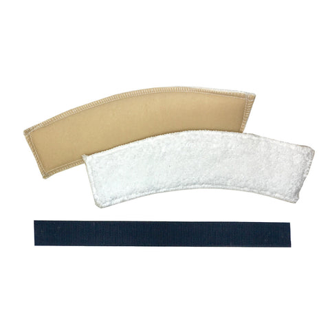 Goalie Mask Replacement Sweatbands (2 PACK) w/ Velcro