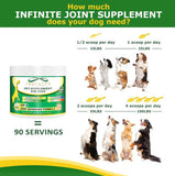 Infinite Dog Beef Flavored Joint Supplement Powder