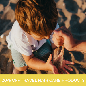 20% OFF Sale: Travel Size Shampoo & Hair Care Products