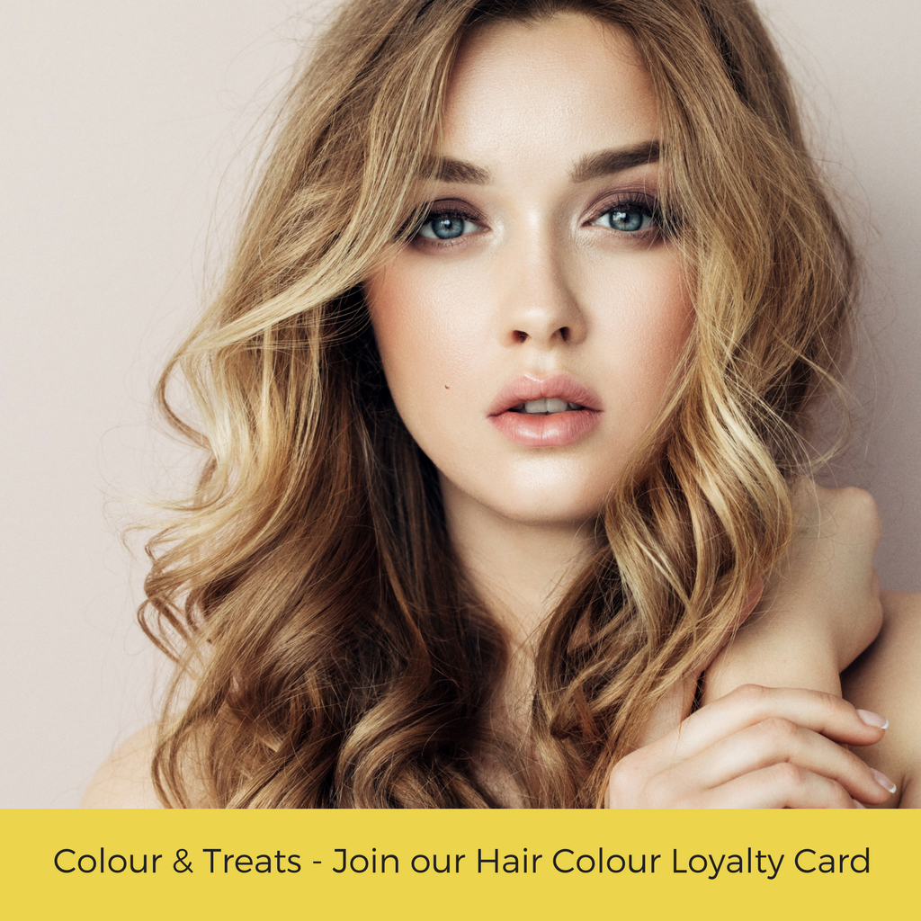 Treats Galore With our Hair Colour Loyalty Card