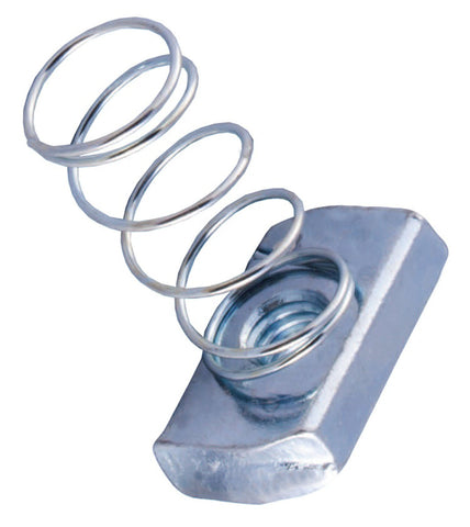"3/8"" Galvanized Spring Nut pack of 100 - Launch 3 - Launch 3 Direct"