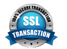 100% secure transaction